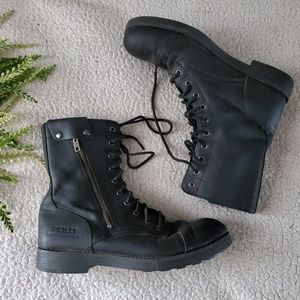 Polo Ralph Lauren   Motorcycle Boots   Size 10.5